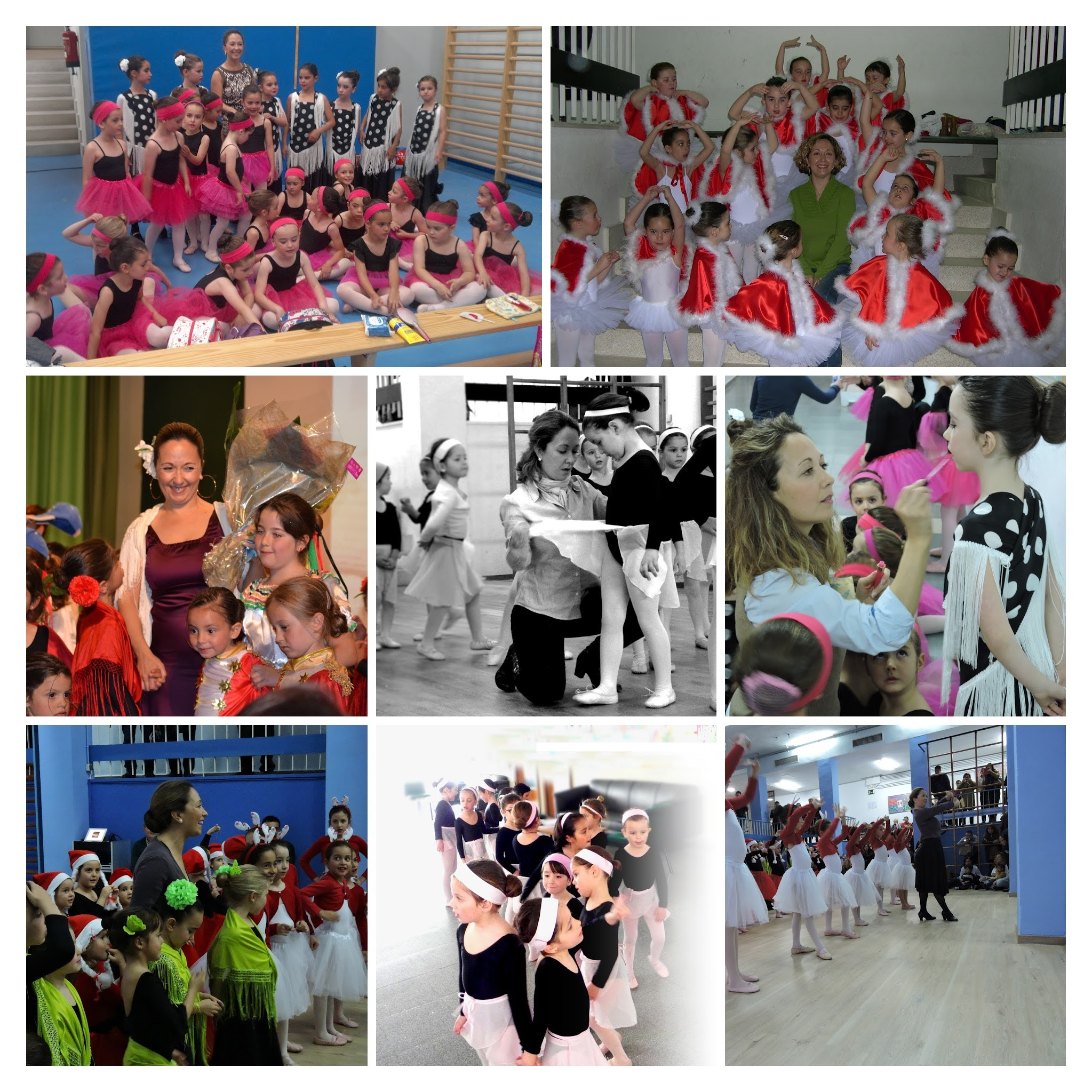 Danza web collage